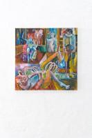 Joseph Geagan, Venison Gravy, 2018, Oil on canvas, 70 x 70 cm