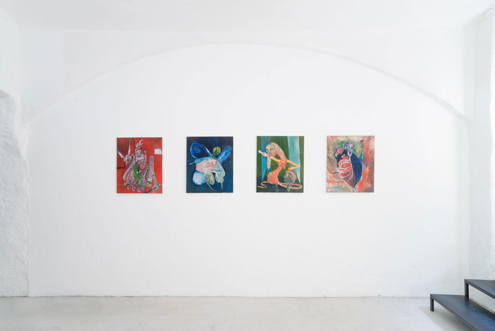 Joseph Geagan, Cha-Cha Kaputt, exhibition view