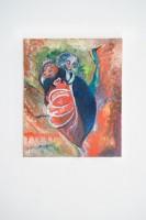 Joseph Geagan, Fifi e der Aasgeier, 2018, Oil on canvas, 60 x 50 cm