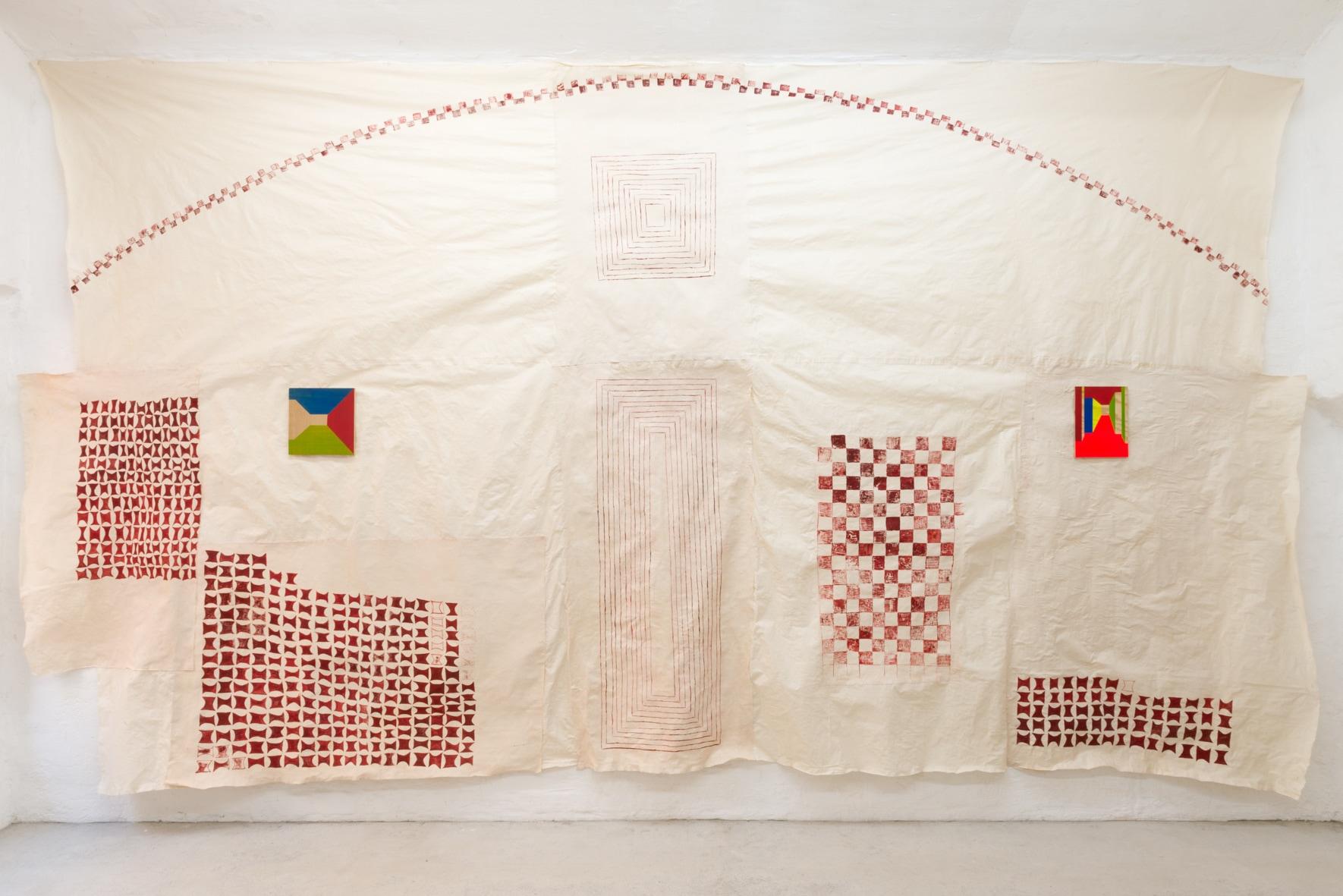 Exhibition view (Nina Zeljković, Charlie Jeffery)