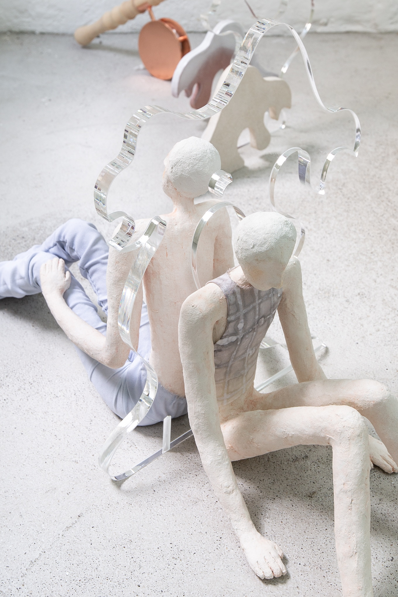 Chiara Bals & Jumpei Shimada, guided by the will to forget (detail), 2021